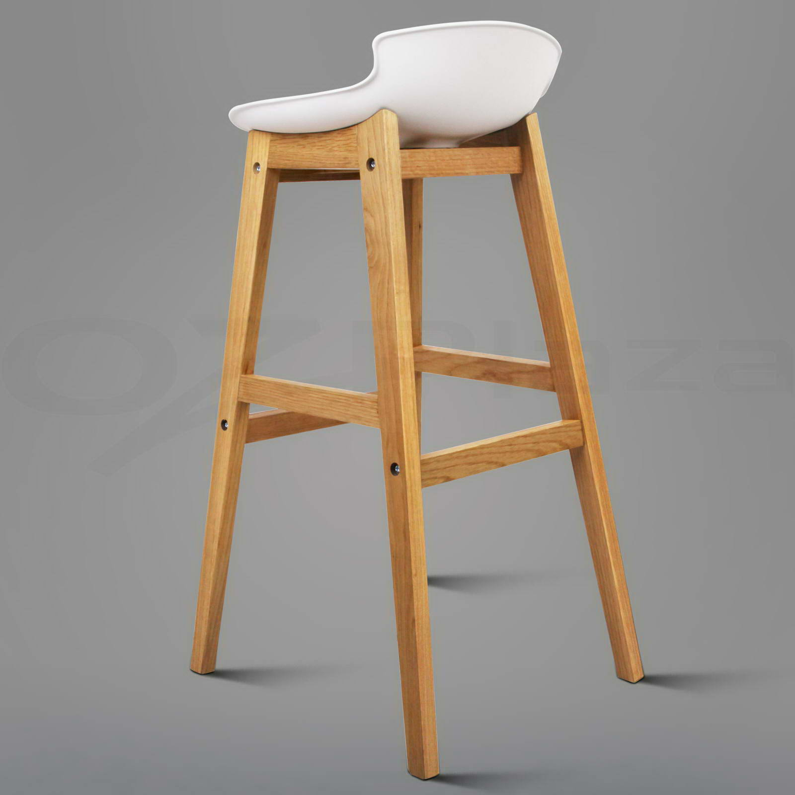 wooden kitchen stools toddler play kitchens 2x oak wood bar barstool dining chairs