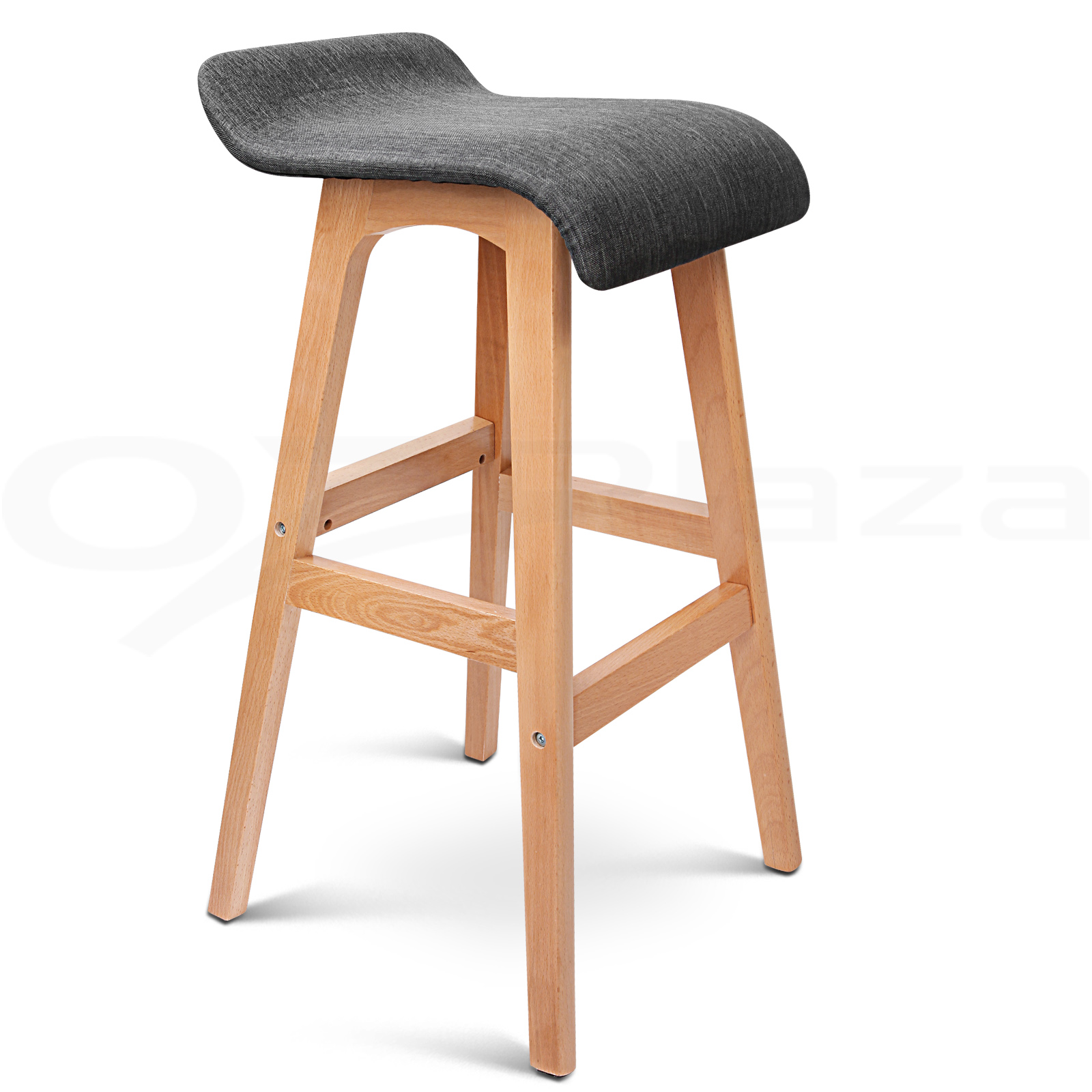 wooden kitchen stools sink oakley 4x bar barstool fabric foam seat