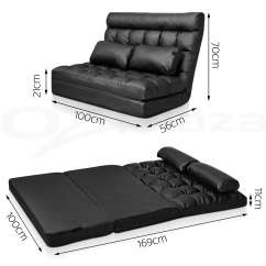 Folding Floor Sofa Chair Ebay Sofas Second Hand Lounge Bed Double Size Recliner Chaise