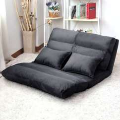 Folding Floor Sofa Chair Best Leather Beds Uk Lounge Bed Double Size Recliner Chaise
