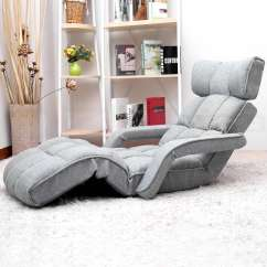 Folding Floor Chair Sofa Sports Bar Tables And Chairs Single Home Lounge Bed Recliner Armchair