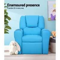 Kid Recliner Armchair Sofa Children Kids Lounge chair ...