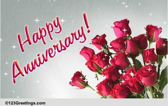 wedding anniversary free happy