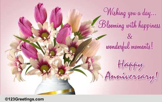 happy anniversary cards free