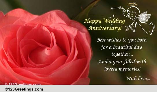 Years Filled With Lovely Memories Free Happy Anniversary ECards 123 Greetings