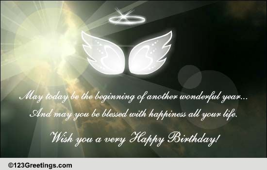 May You Be Blessed With Free Birthday Blessings ECards 123 Greetings