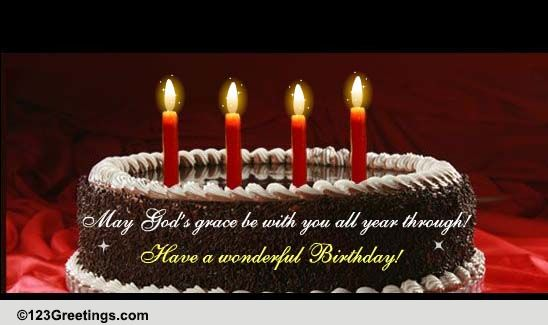 Blessings On Your Birthday Free Birthday Blessings ECards 123 Greetings