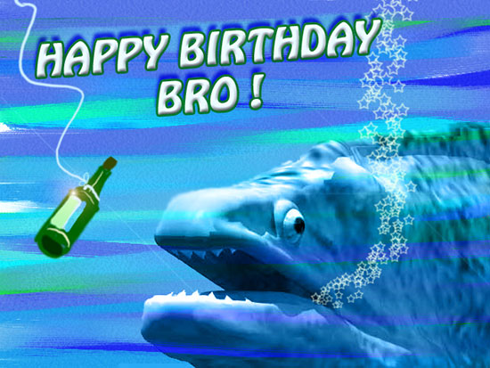 Happy Birthday Beers Bro Free For Brother Amp Sister ECards 123 Greetings