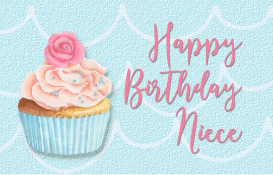 Happy Birthday Wishes To Niece Free Extended Family ECards 123 Greetings