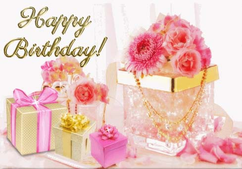 Beautiful Pink Birthday Wishes! Free Birthday For Her