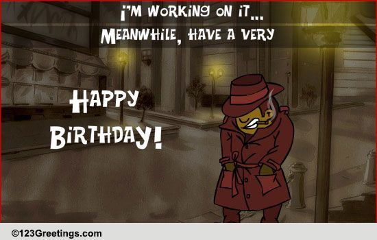 Birthday Mystery Free Funny Birthday Wishes ECards