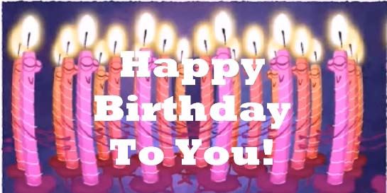 Dancing Birthday Candles Free Funny Birthday Wishes ECards 123 Greetings