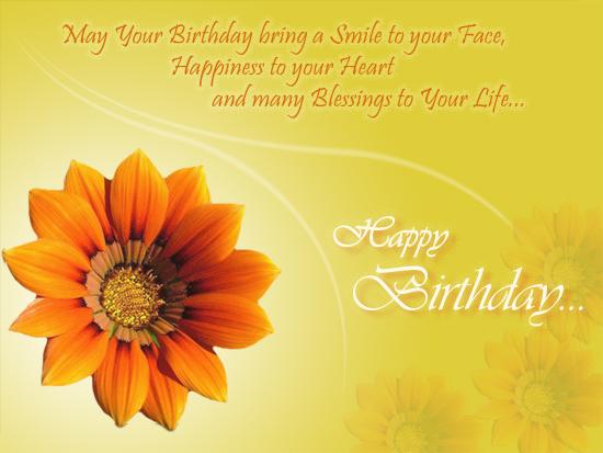 a lovely birthday card