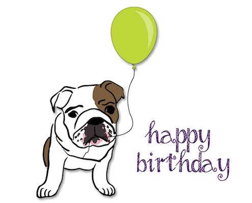 Happy Birthday Bulldog Free Happy Birthday ECards
