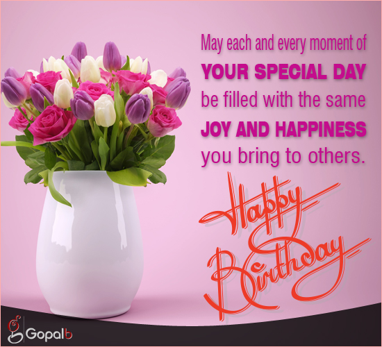 Filled With Joy Amp Happiness Free Happy Birthday ECards 123 Greetings