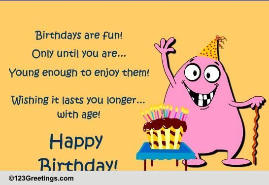 Forever Young! Free Happy Birthday ECards Greeting Cards