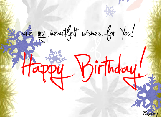 Joy Peace Hope And Love Free Happy Birthday ECards