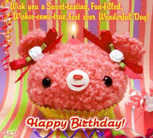 Singing Birthday Cake Wishes Free Happy Birthday ECards Greeting Cards 123 Greetings