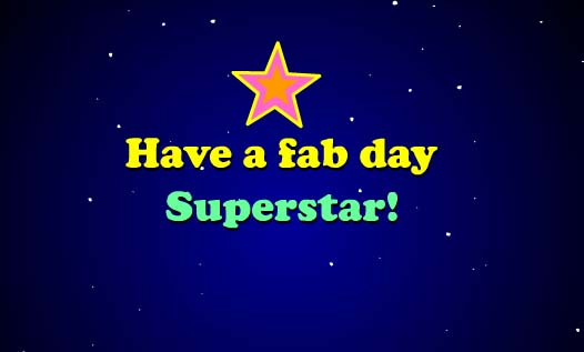 Happy Birthday Superstar Free Happy Birthday ECards Greeting Cards 123 Greetings