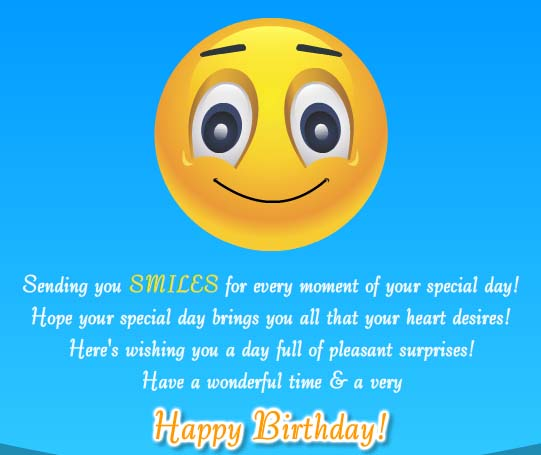 Have A Wonderful Time Free Happy Birthday Ecards