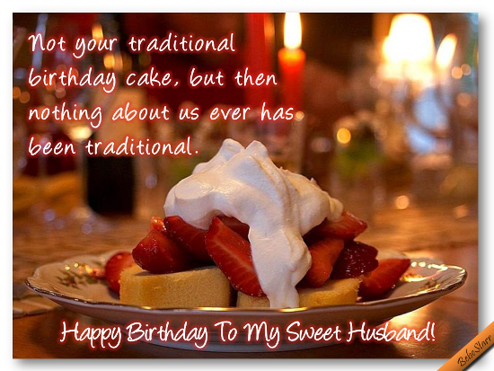 My Sweet Husband Free For Husband & Wife ECards Greeting