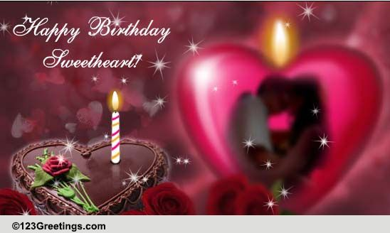 happy birthday sweetheart free