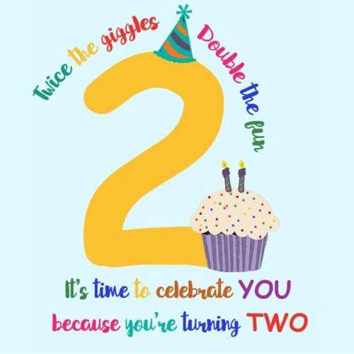 happy 2nd birthday free