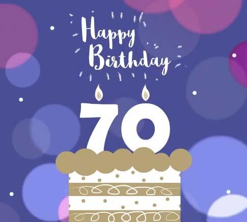 Happy 70th Birthday Free Milestones Ecards Greeting