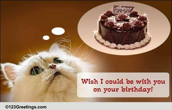 Miss U On Your Birthday! Free Miss You ECards Greeting