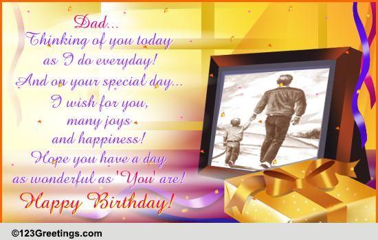 Happy Birthday Dad Free For Mom Amp Dad ECards Greeting
