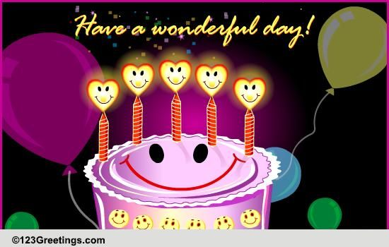 Happy Birthday Free Smile ECards Greeting Cards 123 Greetings