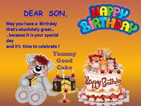 Birthday Wishes For Your Friends Son Archidev