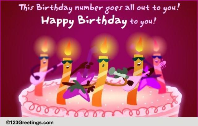 Image result for happy birthday musical card animated