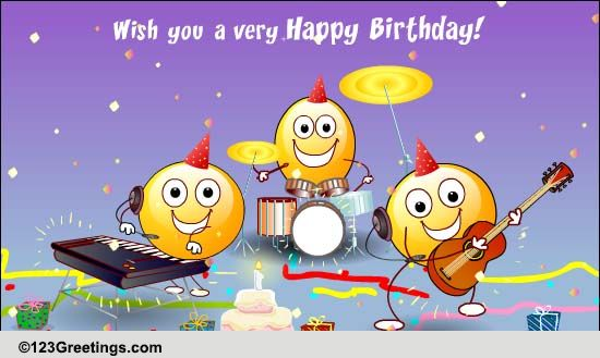 Birthday Songs Cards Free Birthday Songs Wishes Greeting Cards 123 Greetings