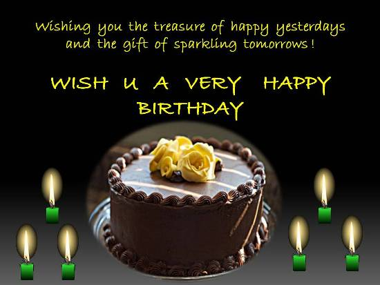 Sparkling Birthday Whishes Free Specials ECards Greeting