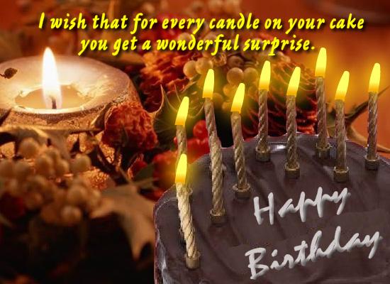 Elegant Birthday Wish Free Birthday Wishes Ecards