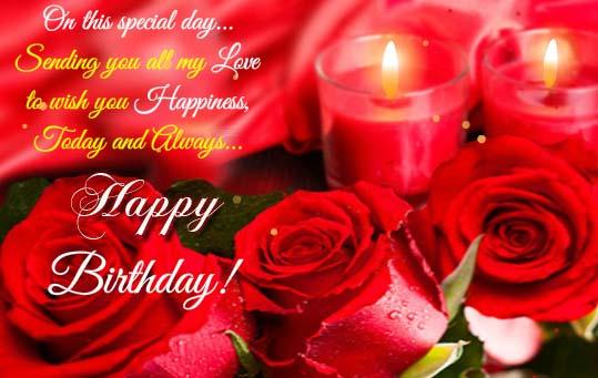 Happy Birthday Warm Wishes Free Birthday Wishes ECards