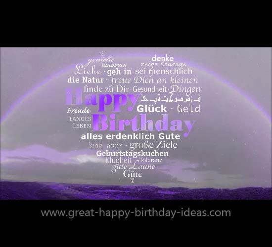A Great Happy Birthday Rainbow Wish Free Birthday Wishes