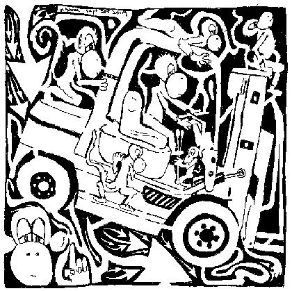 Maze Of Forklift Monkeys. Free Humor eCards, Greeting