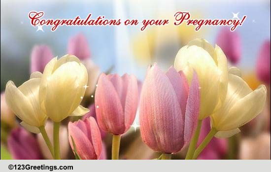 Congratulations On The Good News Free Pregnancy ECards Greeting Cards 123 Greetings