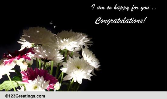 I Am So Happy For You Free Pregnancy eCards Greeting