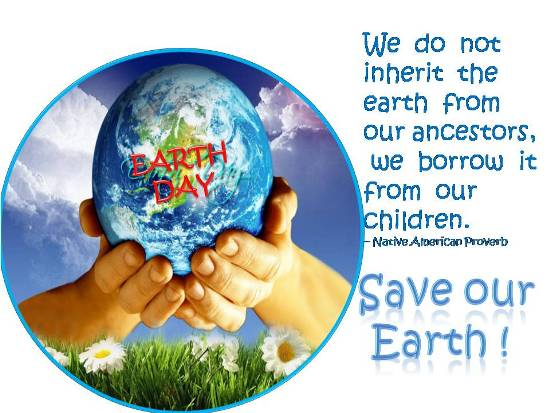 Mother Earth Free Earth Day ECards Greeting Cards 123