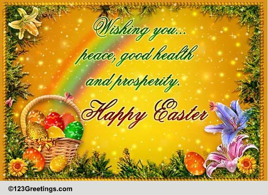 Easter Formal Greetings Cards Free Easter Formal Greetings Wishes 123 Greetings