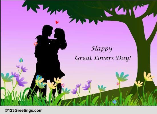 Great Lovers Day Cards Free Great Lovers Day Wishes Greeting Cards 123 Greetings