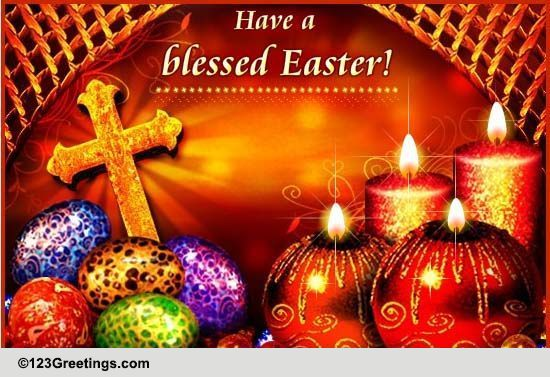 Orthodox Easter Cards Free Orthodox Easter Wishes Greeting Cards 123 Greetings