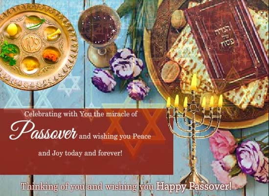 Happy Passover Wishes For Everyone Free Happy Passover ECards 123 Greetings