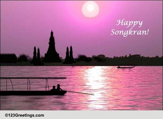 Songkran Thailand Cards Free Songkran Thailand Wishes 123 Greetings