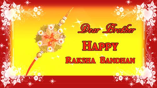 Happy Raksha Bandhan Greeting Card Free Happy Raksha