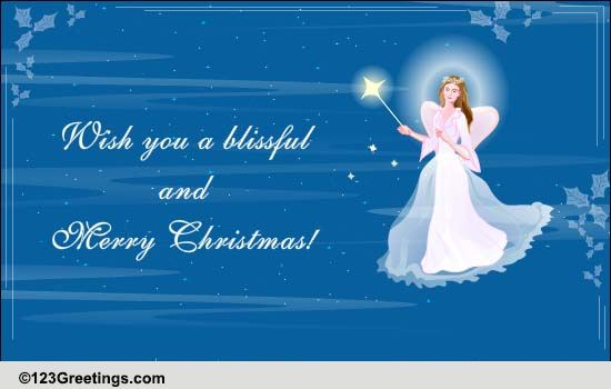 Christmas Angel Wishes Free Angel ECards Greeting Cards