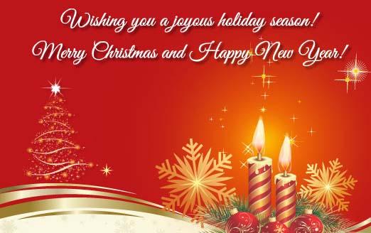 Wishing You A Joyous Holiday Season! Free Business Greetings ... | Wishing  You